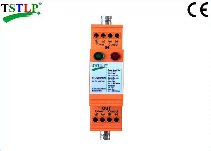 Power Supply / Control / Video Voltage Surge Suppressor For Surveillance Systems