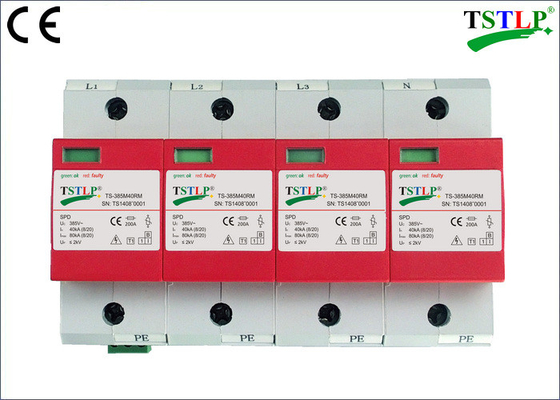 China 40kA Type 1 Spd - 3 Phase Surge Protector 385v Class B 150Vac - 440Vac factory