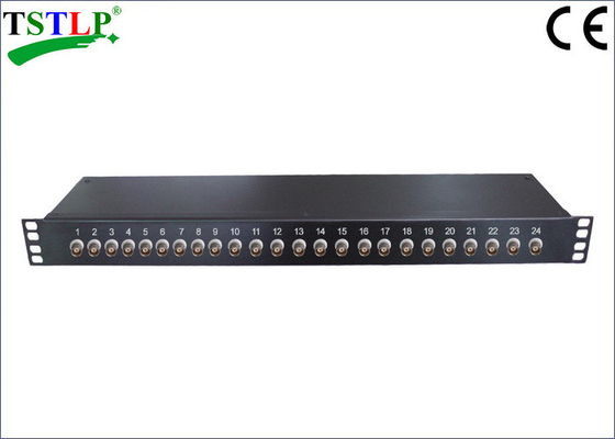 China 24 BNC Ports Cctv Surge Protection Devices For Surveillance Video Transmission factory