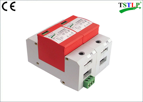 China Reliable Single Phase Voltage Surge Protector , In 100ka Surge Protection Device factory