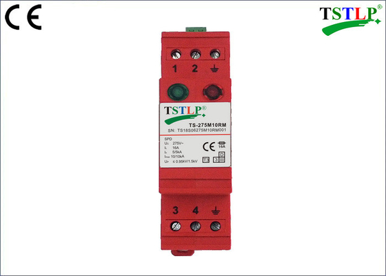 5kA / 10kA Type 3 Lightning Surge Arrester For TT / TN S Power Supply Systems