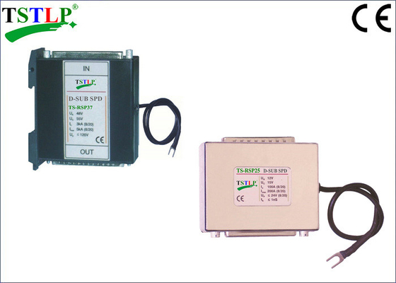 China 25/37 Pins RS422 / RS485 / RS232 Voltage Surge Suppressor For High Speed Transmission factory