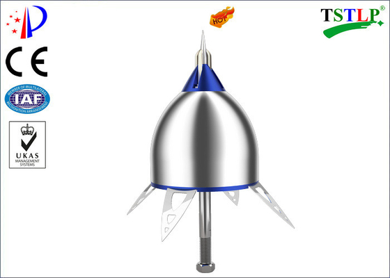 Stainless Steel Ese Lightning Arrester High Efficiency Protect For High Buildings
