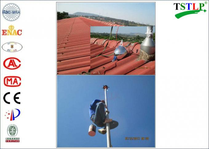 Overseas Residential Ese Lightning Rod With Installation Guide For References