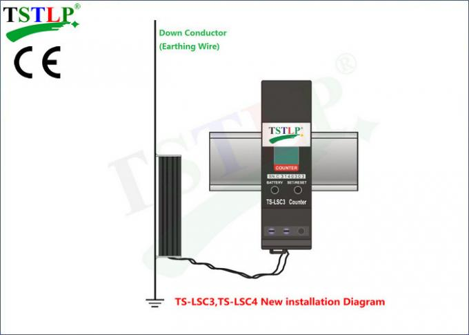 Easy Installation Lightning Event Counter NO External Power Is Required