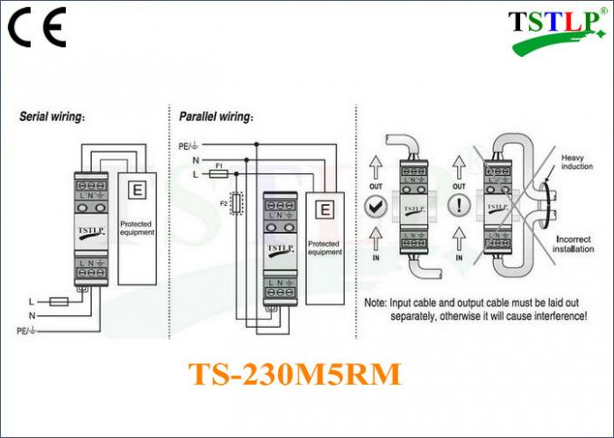 Type 3 Transient Surge Suppressor 24v / 48v / 60v / 120v / 220v / 230v